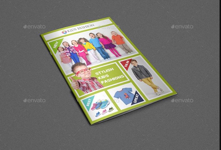 Kids Product Brochure Template