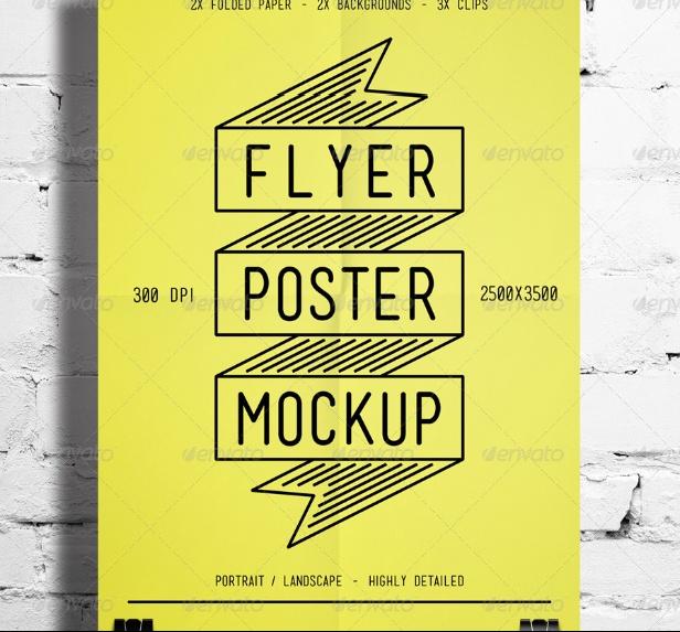 Landscaape Poster Frame Mockup