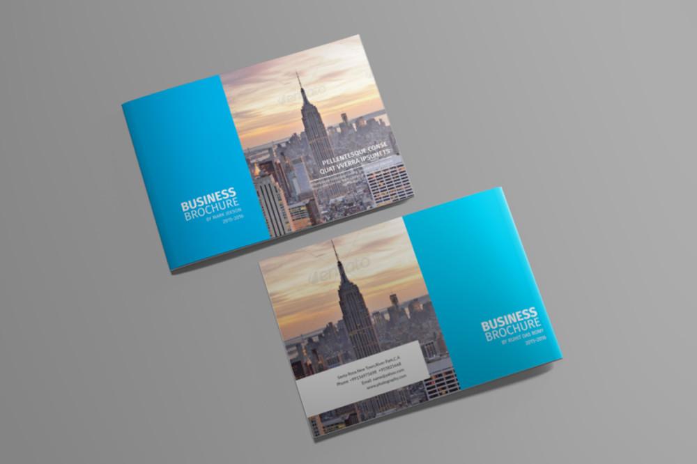Landscape Travel Brochure Template