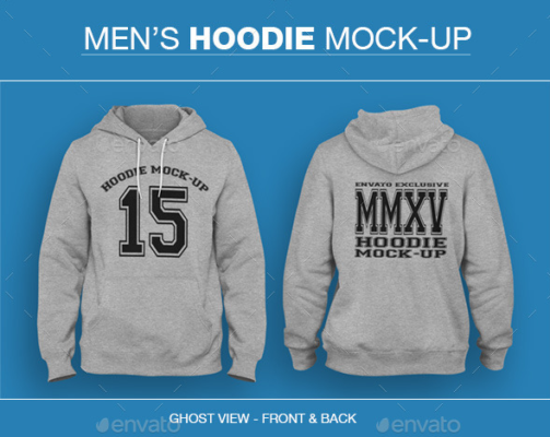 Mens Apparel Mockup PSD