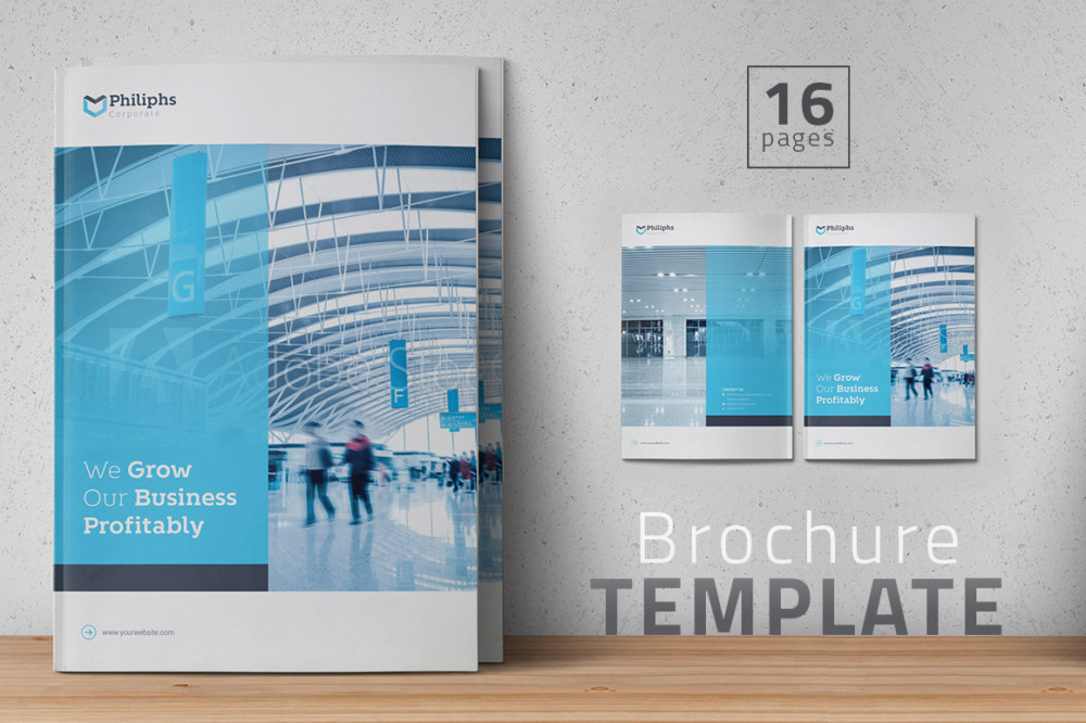 25 brochure template designs to download psd indesign format