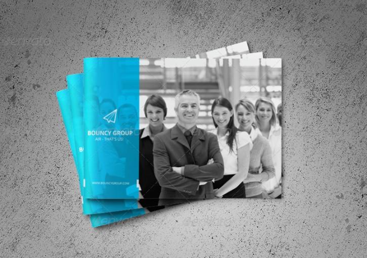 Minimalistic Corporate Brochure Template