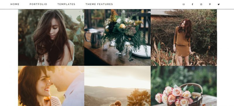 Minimalistic Photography WordPress Theme