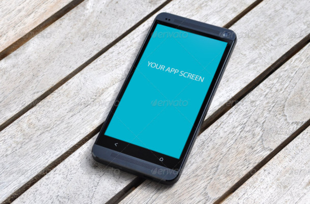 Mobile App Screen Mockup