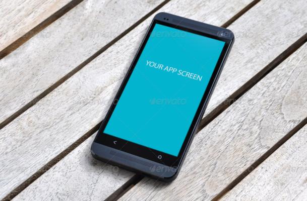Mobile App Screen Mockup
