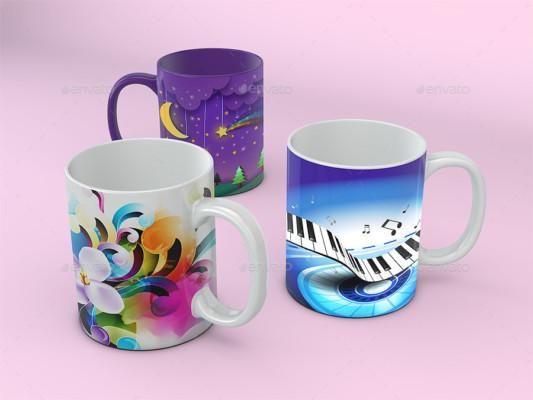 Mockup Mug Template