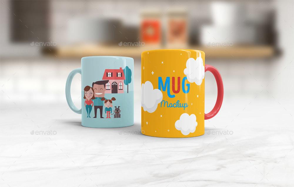 Mug Mockup PSD Template