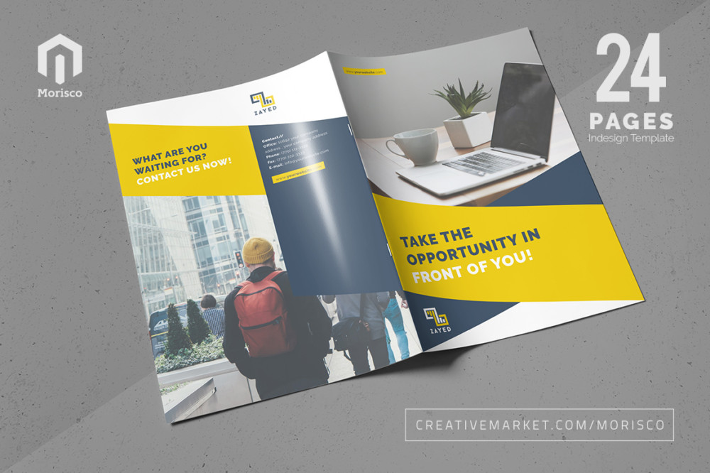 Brochure Template Designs To Download PSD Indesign Format - Indesign templates brochure