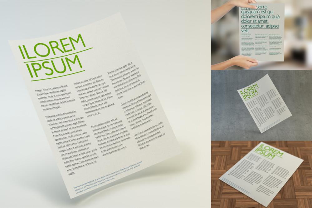 Multipurpose Letter Flyer Template