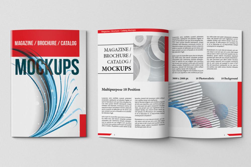Multipurpose Magazine Mock-Up
