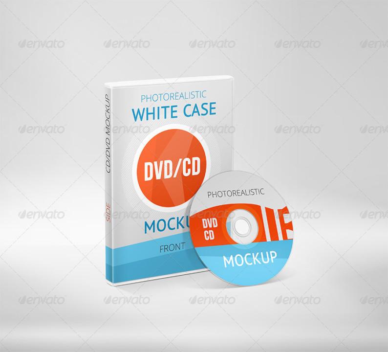 PSD CD Mockup Design