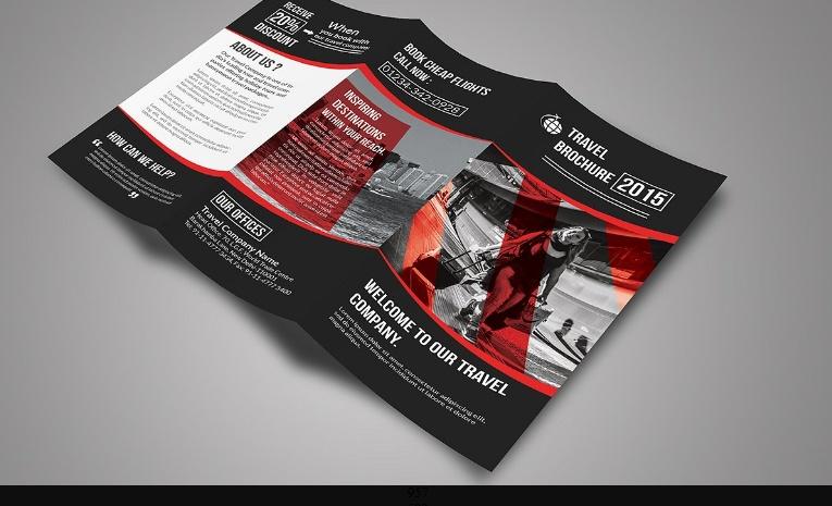 PSD Travel Brochure Template