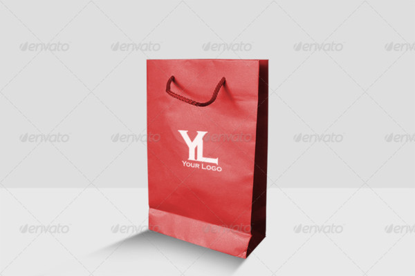 Paper Bag Branding Mockup