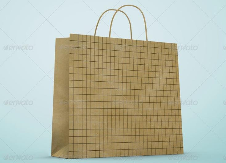 Paper Bags Mockup Design