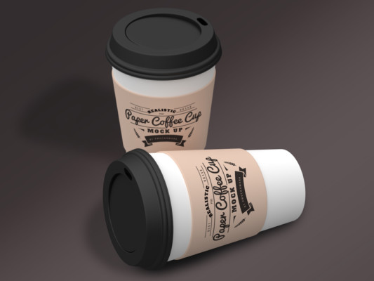 Paper Coffee Cup Mock-Up