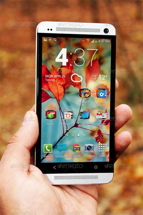 Photo Realistic Android App Mockup