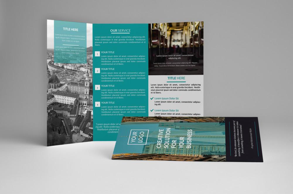 Print Ready Business Brochure Template