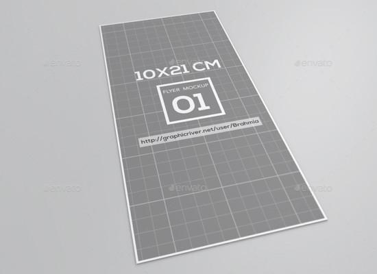 Printable Flyer Mockup Template