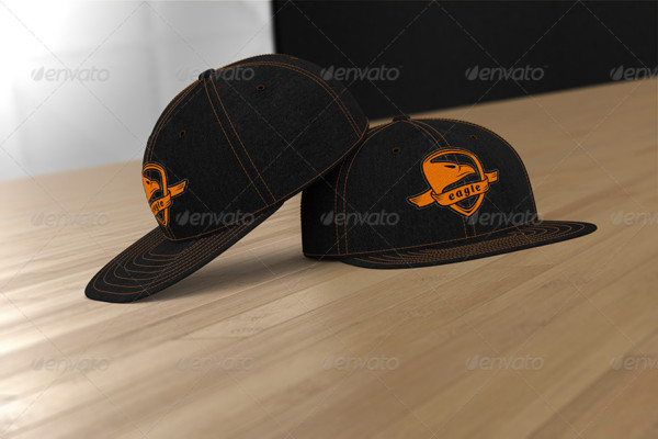Professional Baseball Cap Mockup PSD