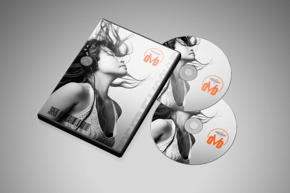 Professional CD Mockup Design