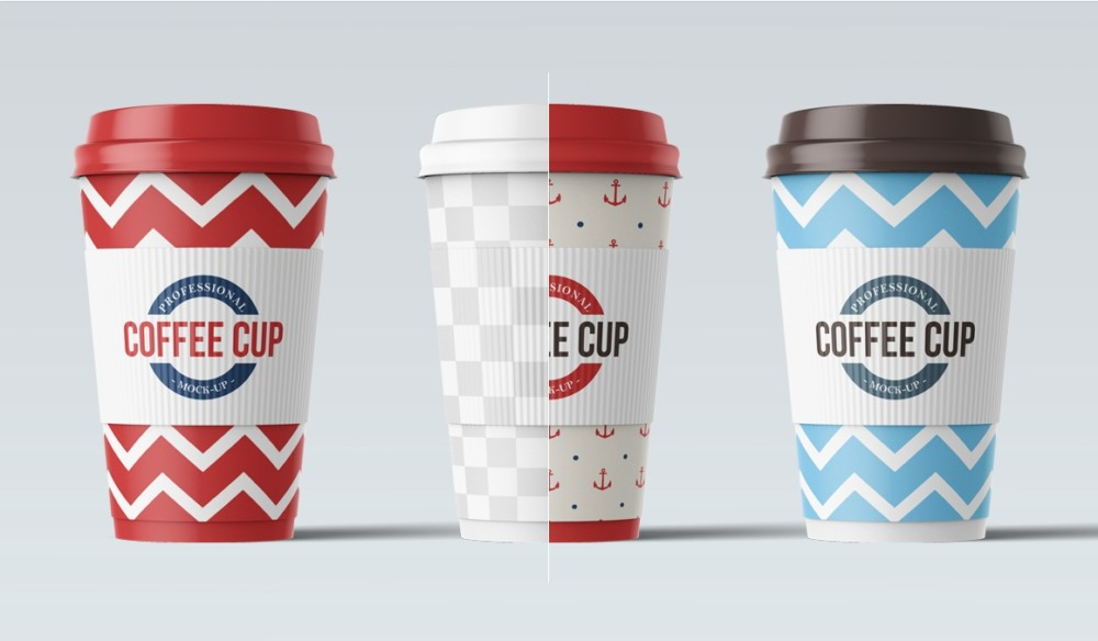 Professional Coffee Cup Mockup