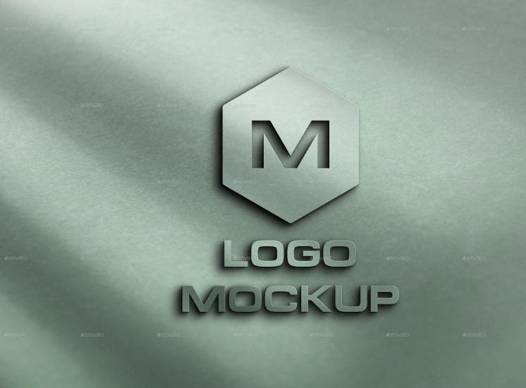 Professional Logo Mockup PSD