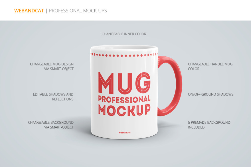 Professional Mug Mockup