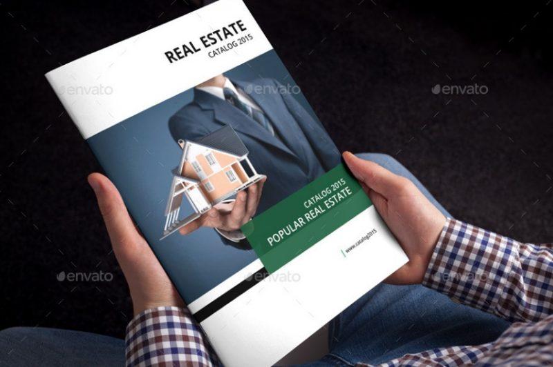 Property Brochure Template PSD