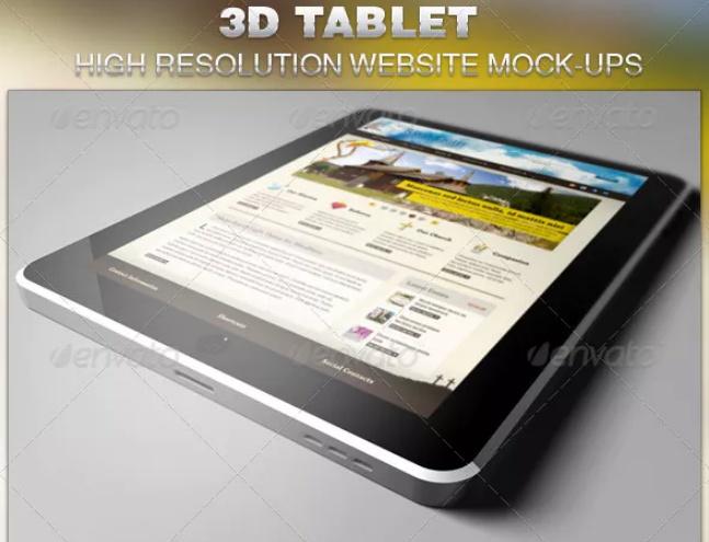 Realistic-3D-Mockup