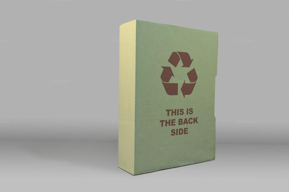 Realistic Box Mockup Template