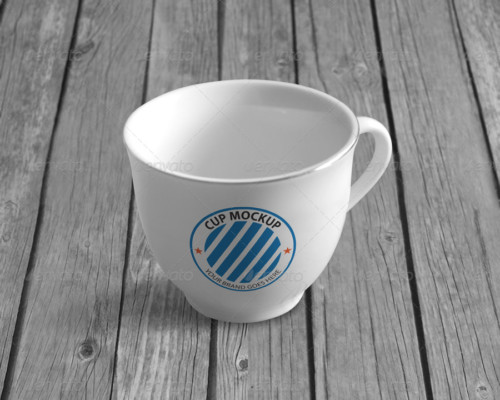 Realistic Cup Mockup