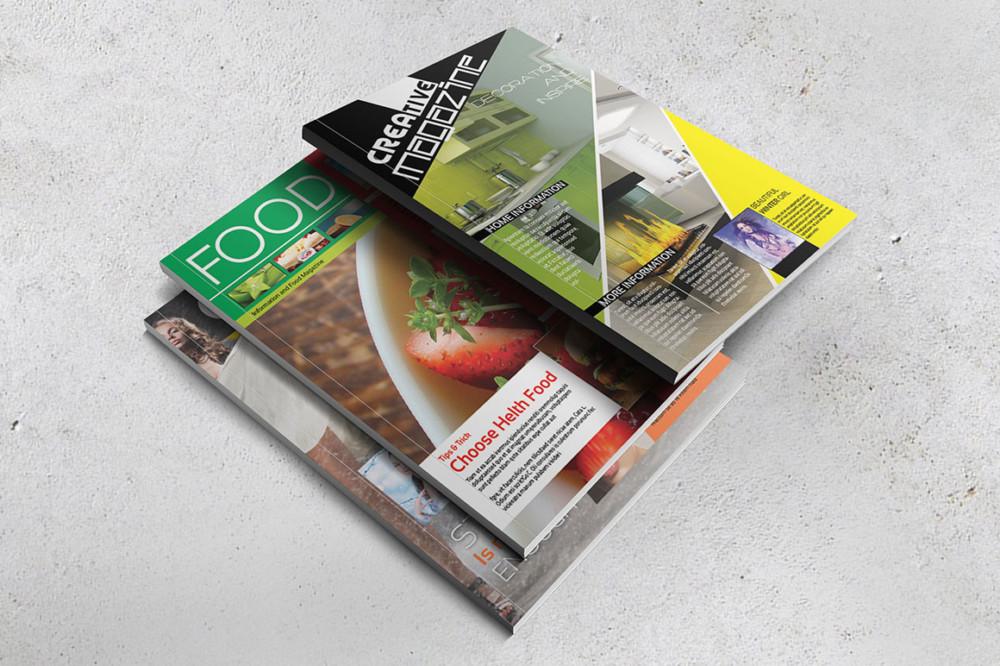 Realistic Magazine Mockup