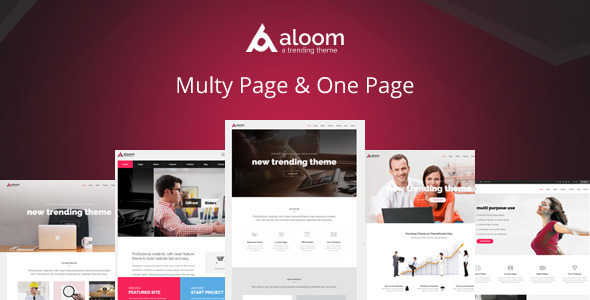 Responsive Corporate and Business Theme