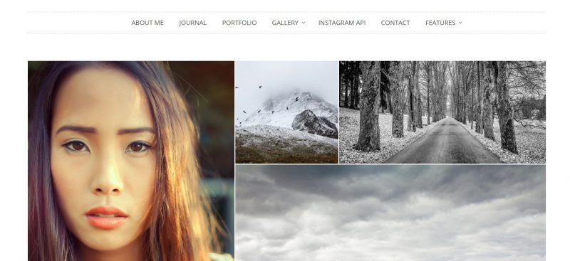Responsive Photographer WordPress Theme