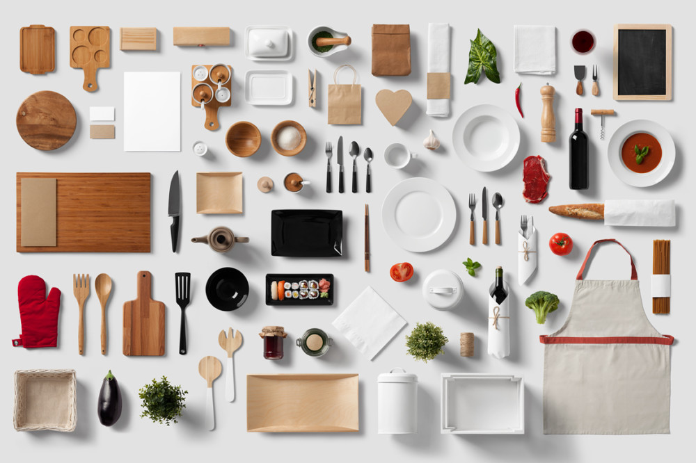 Restaurant Branding Mockup PSD Design