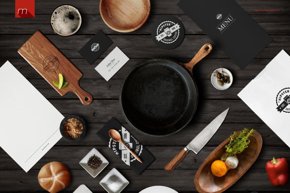 Restaurant Identity Branding Mockup
