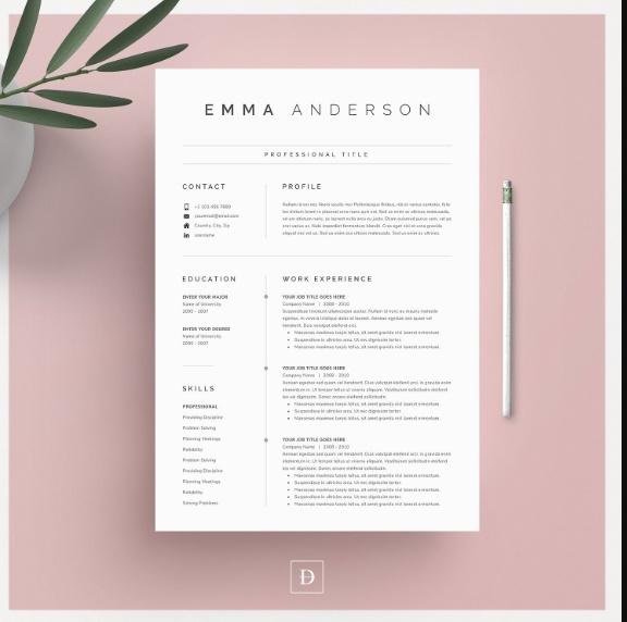 Sample Professional Resume Template