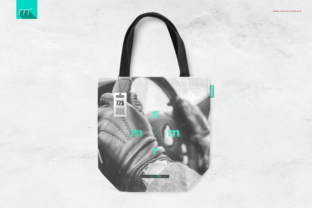Shopper Canvas Bag Mockup