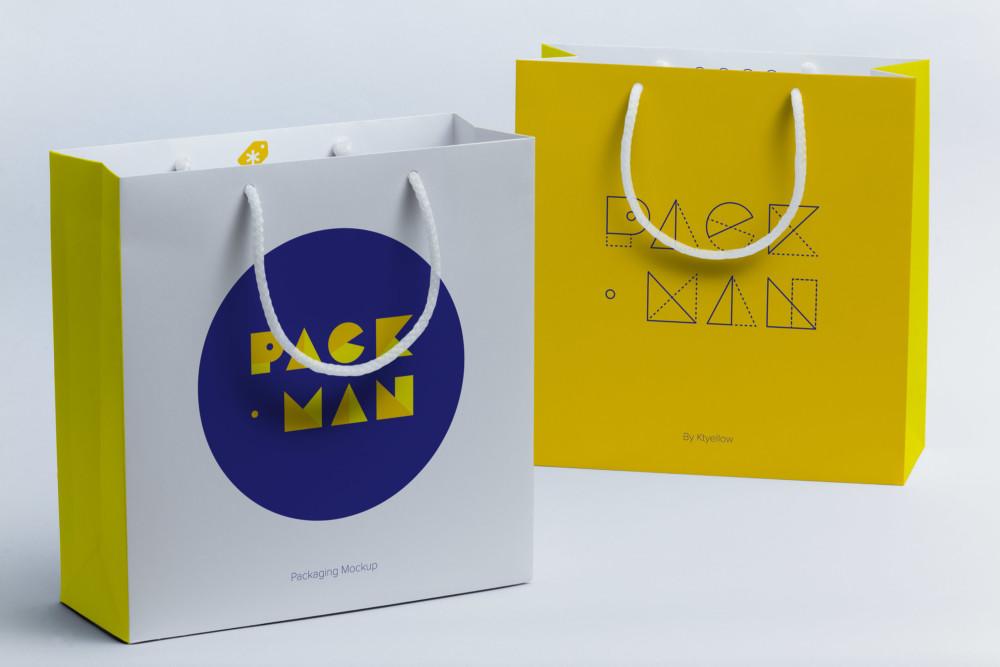 Shopping Bag Mockup Templates