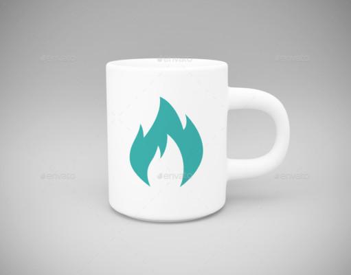 Simple Mug Mockup PSD