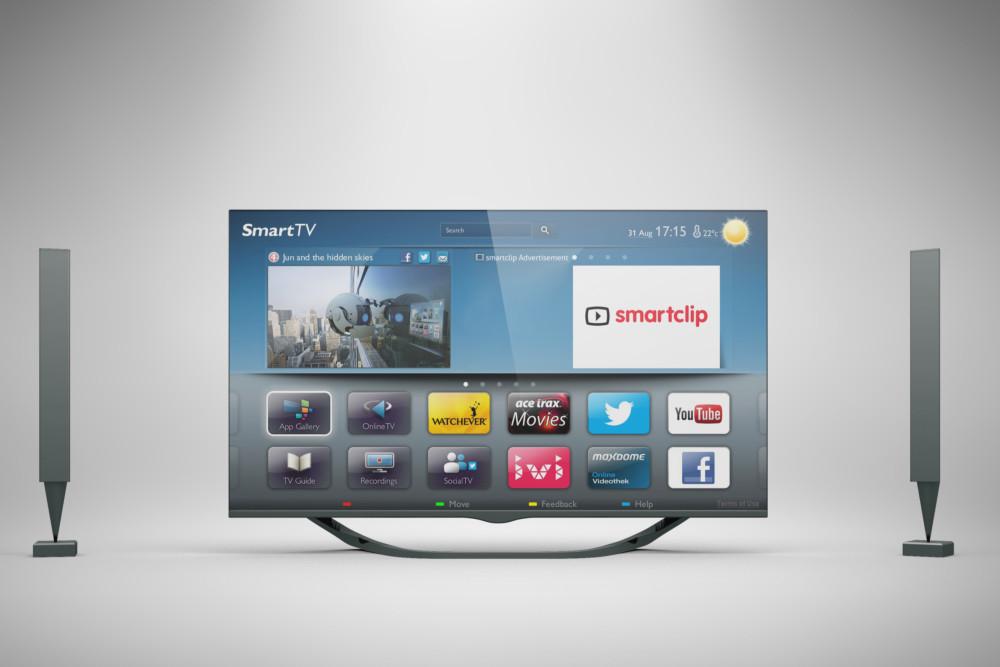Smart TV Mockup Design Template