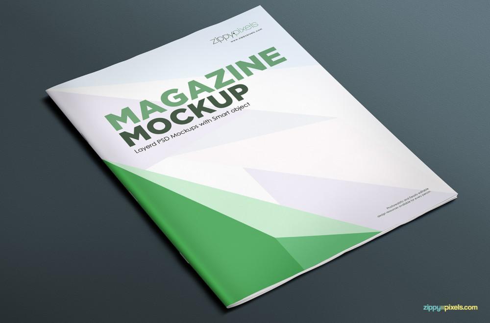 Magazine Mockup Template. ux luke and jules. psd magazine mockup ...