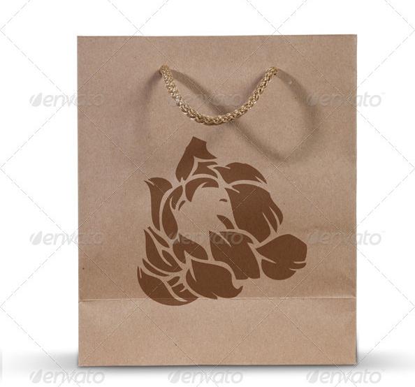 Store Bag Mockup PSD