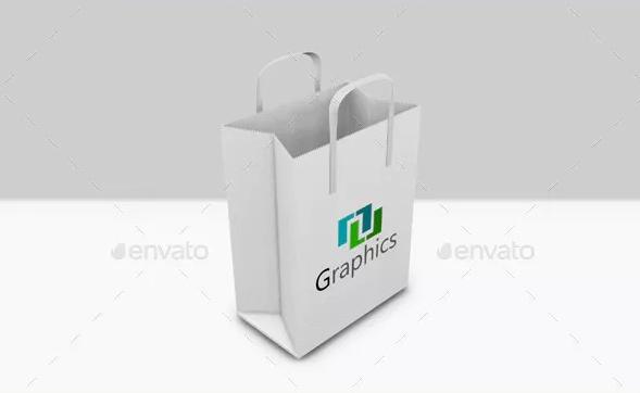 Store Shopping bag Mockup PSD