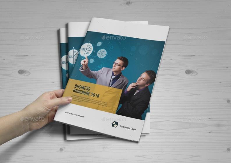Stylish Corporate Brochure Template