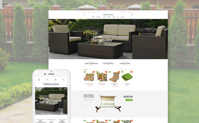Theme Designed for Online Furniture