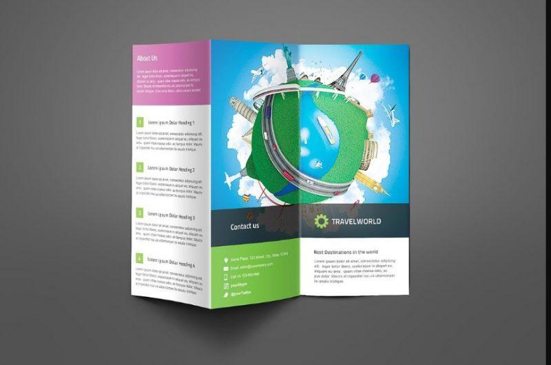 Travel Company Brochure Template