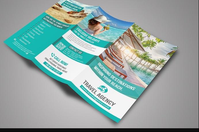 Travel Tri Fold Brochure Template