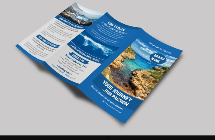 25 Travel Brochure Template Psd Ai And Indesign Format Download