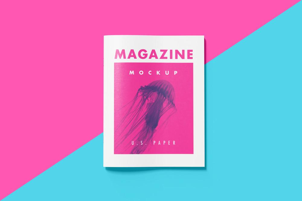 US Paper Magazine Mockup